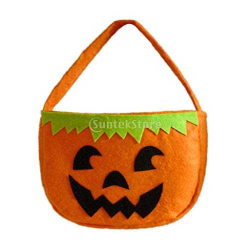 Handbag Handbags - Halloween Party Trick Or Treat Bag Kids Gift Loot Sweet Candy Cello Handbag - Cold Turkey Dead Candy Flag Street Monster Toys Self Handbag Figure Fish Action Play Movie Casual ()