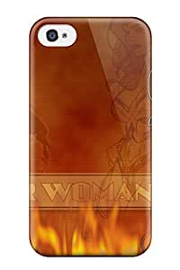 High Quality Shock Absorbing Case For Iphone 4/4s Wonder Woman