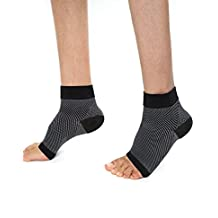 Plantar Fasciitis Foot Compression Socks (1 pair ) - lightweight Foot Brace with Arch & Heel Support Treatment for Men & Women