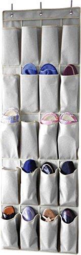 Sunbeam 20 Pocket Over the Door Shoe Organizer