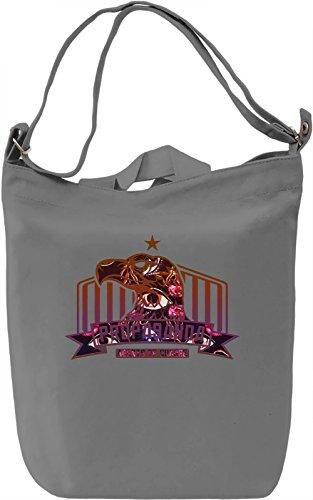 Propaganda Eagle Borsa Giornaliera Canvas Canvas Day Bag  100% Premium Cotton Canvas  DTG Printing 