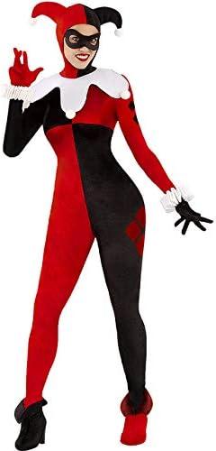 Funidelia Disfraz de Harley Quinn para Mujer - DC Comics: Amazon ...