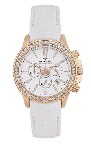 Rotary ALS00088/C/01 Ladies Aquaspeed Crystal Chronograph Watch w/ Date