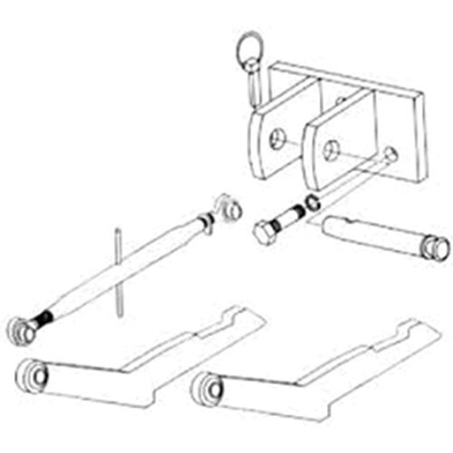 2-Point Hitch Conversion Kit International 606 by All States Ag Parts