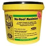 RICHDEL 784299391000 Nu-Hoof Maximizer Hoof & Coat Support for Horses, 10 lb