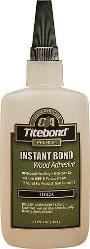 Titebond 6222 4 Oz Titebond Thick Instant Bond Wood Adhesive ()