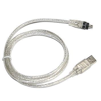 SODIAL(R) Cable de Extension USB 2.0 a IEEE 1394 Firewire 4 Pin 4 Pies para Camara Digital o Videocamara: Amazon.es: Electrónica