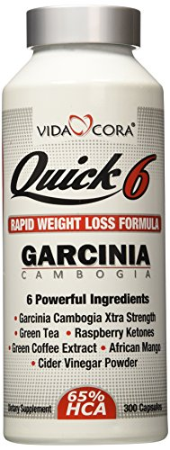 Vida Cora Quick 6 Garcinia Cambogia Weight Control Formula