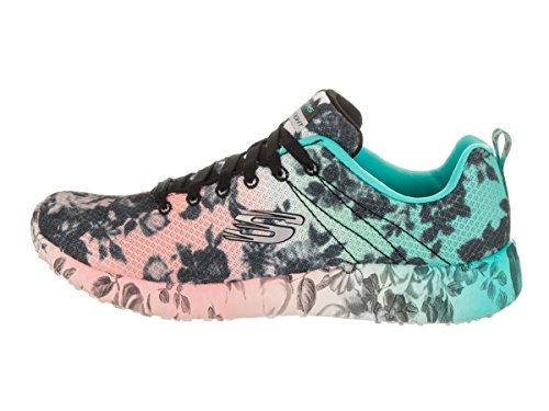 Zapatillas deportivas Wild Rose de Burton, negro / multi de Skechers