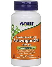 Now Foods Ashwagandha, 450mg,Veg Capsules, 90ct