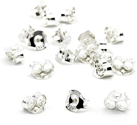 Plata Esterlina pendiente la configuración de la fabricación de joyas 4mm