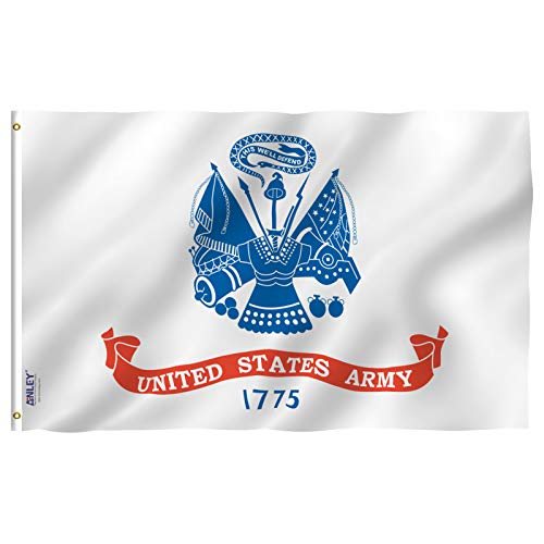 Anley Fly Breeze 3x5 Foot US Army Flag - Vivid Color and UV
