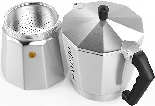 Stovetop Espresso Maker - Italian Moka Pot - Cafetera - Cuban Coffee Machine - Extra-Large by ...