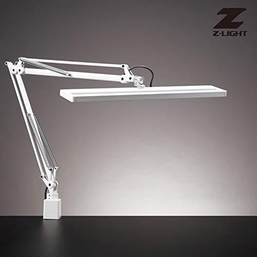 Z-81N W/Z-LIGHT デスクライト 人感センサ ハンドル付 調色調光タイプ (ホワイト)(Z-81NW) B07M9TCMLS