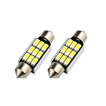 1x Citroen C2 Bright Xenon White 8SMD LED Canbus Number Plate Upgrade Light Bulb