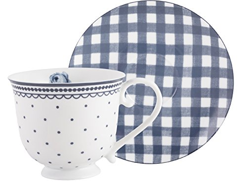 Katie Alice Vintage Indigo Cup and Saucer by Creative for sale  Delivered anywhere in USA