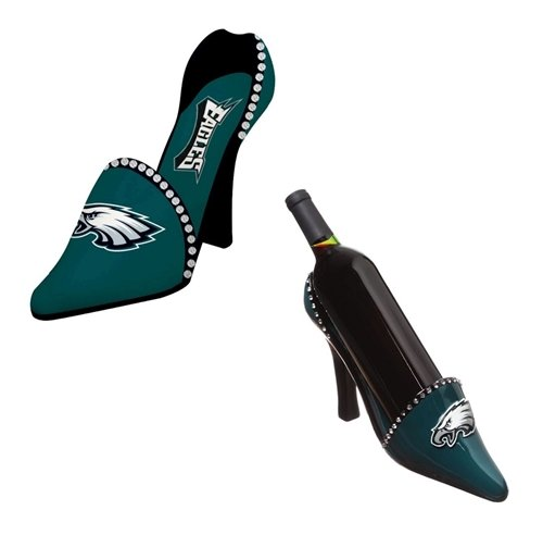 Philadelphia Eagles Decorative Wine Bottle Holder - Shoe