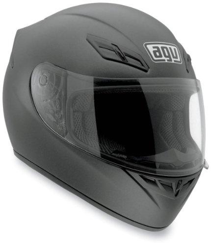 AGV K4 EVO Solid Helmet , Size: XL, Primary Color: Black, Distinct Name: Matte Black, Helmet Type: Full-face Helmets, Helmet Category: Street, Gender: Mens/Unisex 0031O4C0002010 (Agv Helmet Sizes)