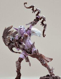 World of Warcraft Figure WOW Night Elf Hunter Action Figure