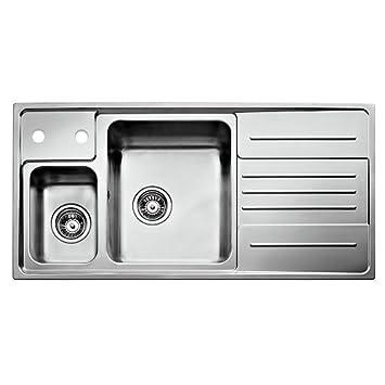 Teka 30000611 Edelstahl Einbauspüle Küchenspüle 1 1/2 Becken ...