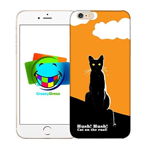 Bralexx 9212#_iPhone_6_6S_Cats_6 Schutzhülle für Apple iPhone 6/6S