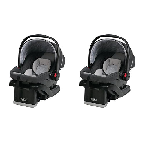 Graco SnugRide 30 Click Connect Infant Car Seat, Glacier (2 Pack) | 1926889
