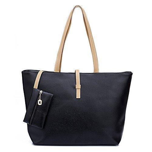 digimate-lady-womens-pu-leather-messenger-handbag-shoulder-bag-totes-purse-hobo-black