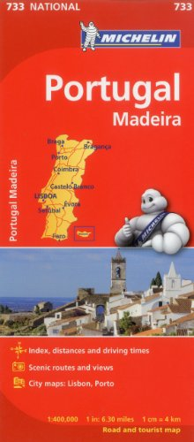 Michelin Portugal Map 733 (Maps/Country (Michelin))