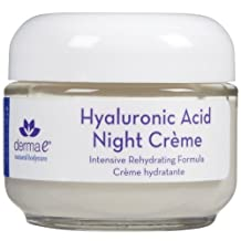 Derma E: Hydrating Night Creme w/ Hyaluronic Acid, 2 oz (4 pack)