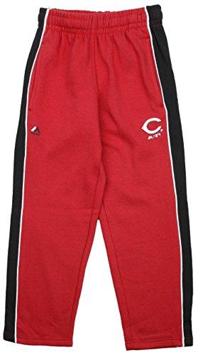 (Majestic Cincinnati Reds MLB Big Boys Stadium Wear Fleece Pants - Red (Large (14/16)))