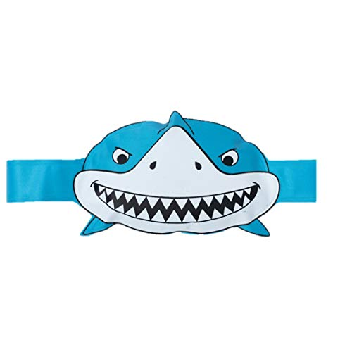 GooseEgged - Hands Free Ice Pack for Kids; Kids Ice Pack, Ice Packs for Kids, Kids Ice Packs for Boo Boos - Perfect for Bumps and Temperatures; Baby Shower and Registry Essential, Shark