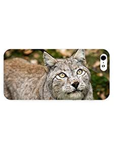 3d Full Wrap Case For Sam Sung Galaxy S5 Mini Cover Animal Lynx34