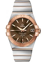 Omega 123.20.38.21.13.001 Constellation Men's Co-Axial 38MM 18KR Watch by Omega
