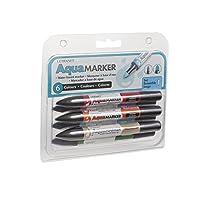 Letraset Aqua Marker Set #1, Set of 6