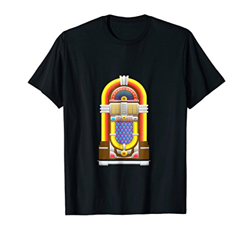Jukebox Music Songs Fifties Diner Shirt -