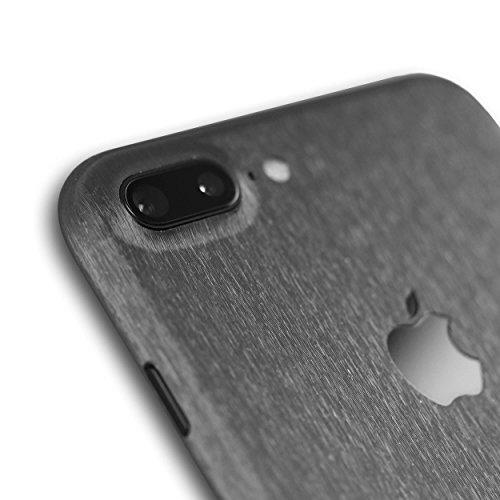 AppSkins Folien-Set iPhone 7 PLUS Full Cover - Metal steel