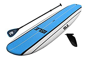"""ISLE Classic Soft Top 10'8 Stand Up Paddle Board (5"""" Thick) SUP Package 