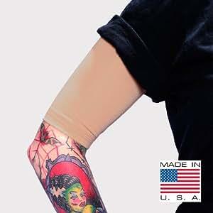 Tat2x ink armor premium half arm tattoo cover for Tattoo sleeves amazon