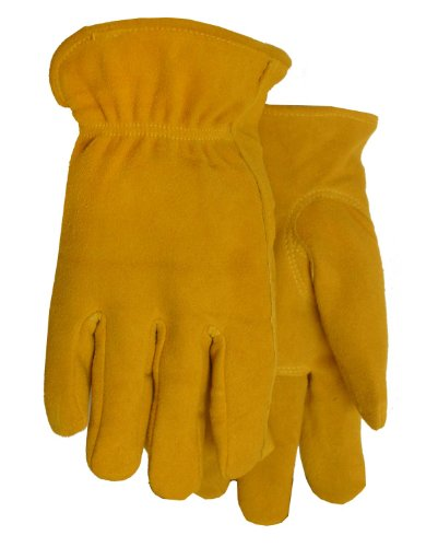 [Thinsulate Lined Deerskin Leather Work Gloves, 844TH, Size: Large] (Deerskin Winter Lined Glove)