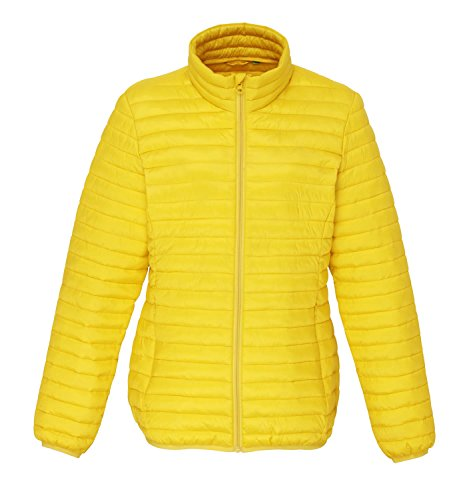 2xl 000 7 bright xs 2786 Yellow Veste Womens Couleurs Fineline Matelassée Tribe xnw7H8qA4g