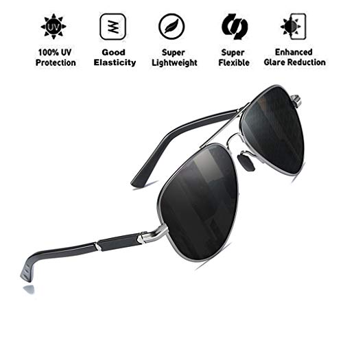 Light Polarized para sol Protección Aviator UV400 Hombres Classic C3 Retro Mujeres Gafas ATNKE Ultra Style de Driving gRZwZE