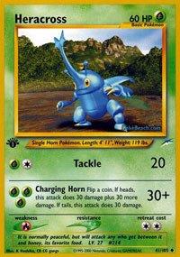 Pokemon - Heracross (41) - Neo Destiny ()