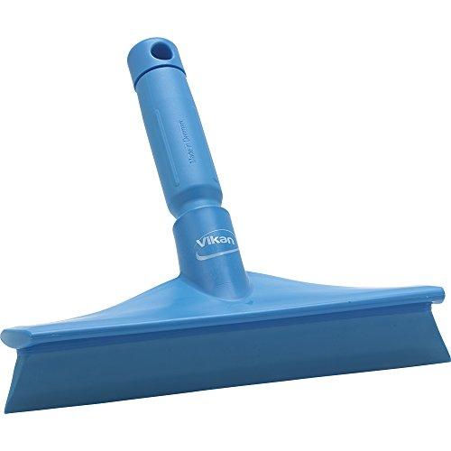 VIKAN Blue 10″ Polypropylene Bench Squeegee