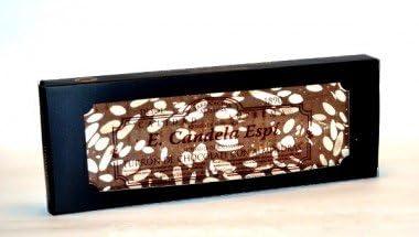 Turron de chocolate con leche y almendras 500g.: Amazon.es ...