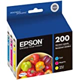 Epson T200520 DURABrite Ultra Color Combo Pack Standard Capacity Cartridge Ink