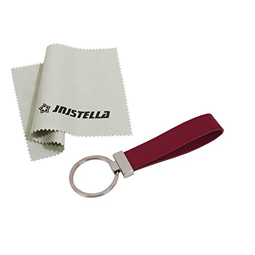 - Jnjstella Genuine Leather Key Fob Chain Ring Keychains Burgundy