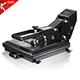 TUSY Heat Press Machine 15x15 inch Digital Industrial Quality Printing Press Heat Transfer Machine for T-Shirt