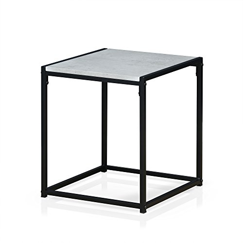 Furinno FM4045ST-1SW Modern Lifestyle End Table, 1-Tier, Sto