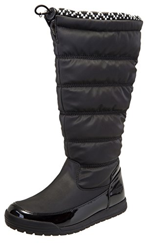 totes Women's Cayman Waterproof Tall Winter Snow Boot (8 B(M) US, Black)
