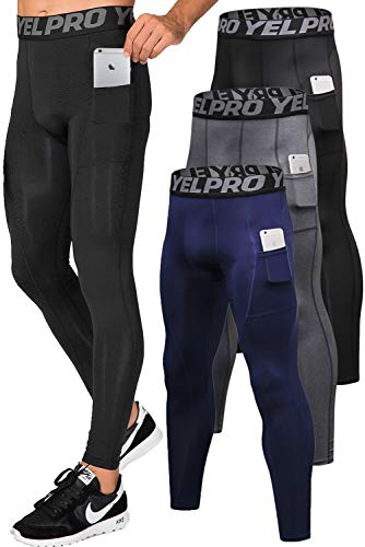 Lavento Men's Compression Pants